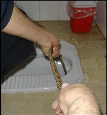 بهترین روش رفع گرفتگی لوله های فاضلاب