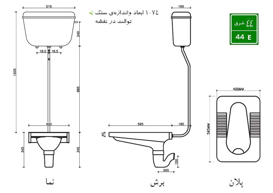 5 نکته در نصب سنگ توالت ایرانی