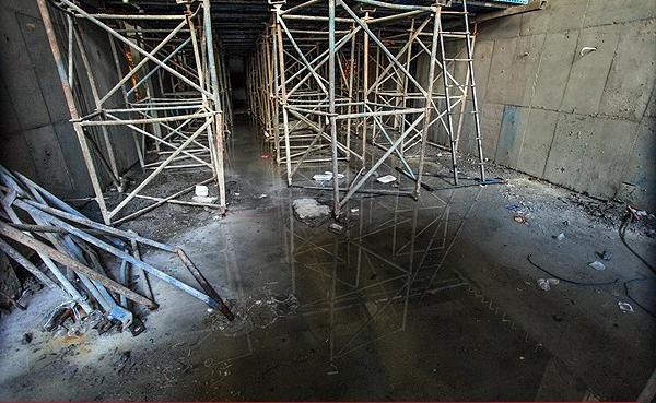 آبفای استان تهران در پی حادثه فرونشست زمین در ایستگاه مترو اعلام کرد