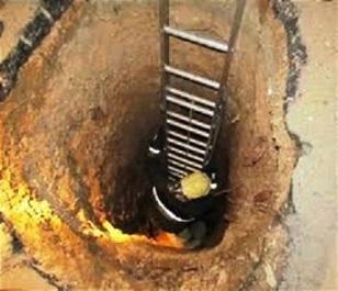 نجات مرد همدانی از چاه ۳۰ متری