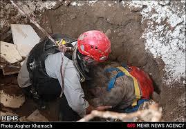 ریزش دیواره چاه فاضلاب حادثه ساز شد